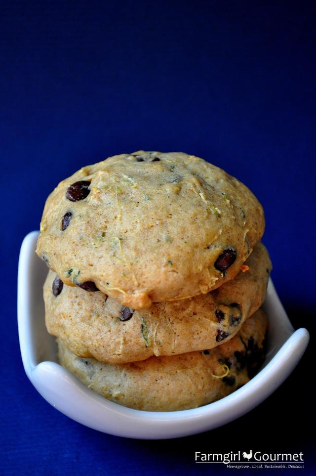 Zucchini Chocolate Chip Cookies 3
