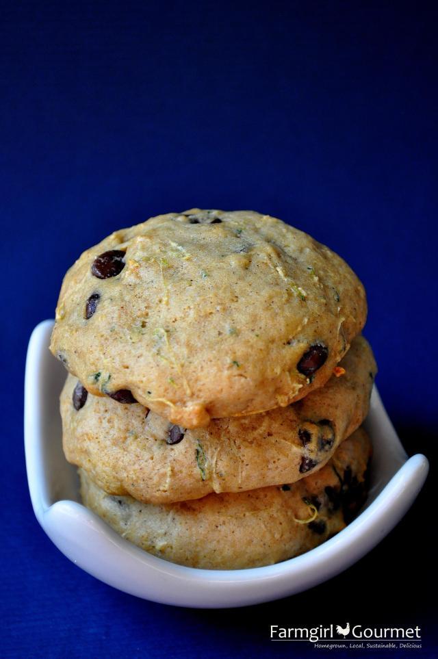 Zucchini Chocolate Chip Cookies 3