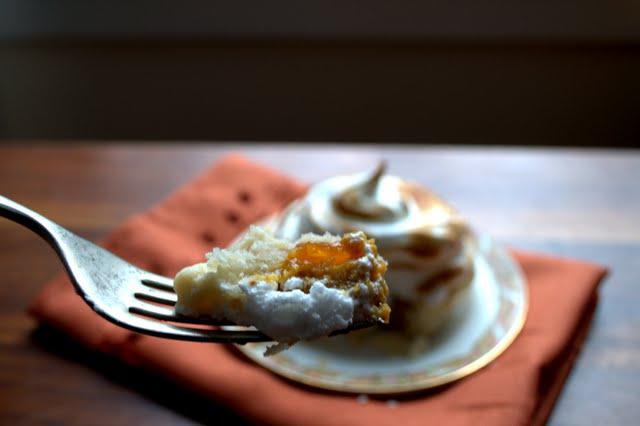 Pumpkin Apricot Meringue Tartlets | Farmgirl Gourmet