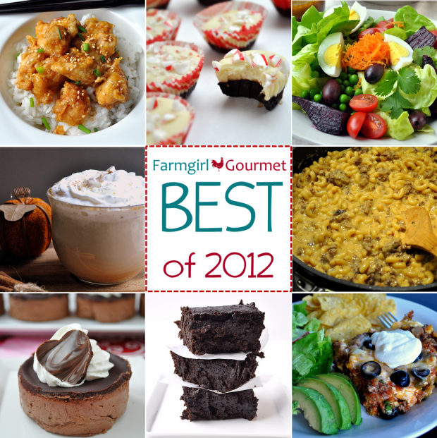 Best Recipes of 2012 via farmgirlgourmet.com