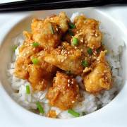 Oven Fried Orange Chicken