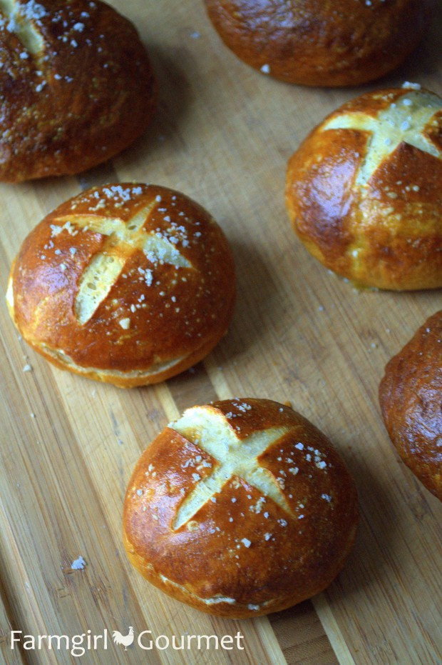 Pretzel Buns Recipes Dishmaps