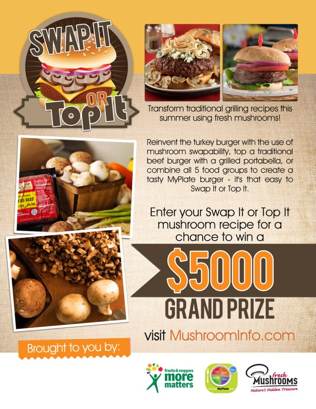 Swap It or Top It Poster | farmgirlgourmet.com