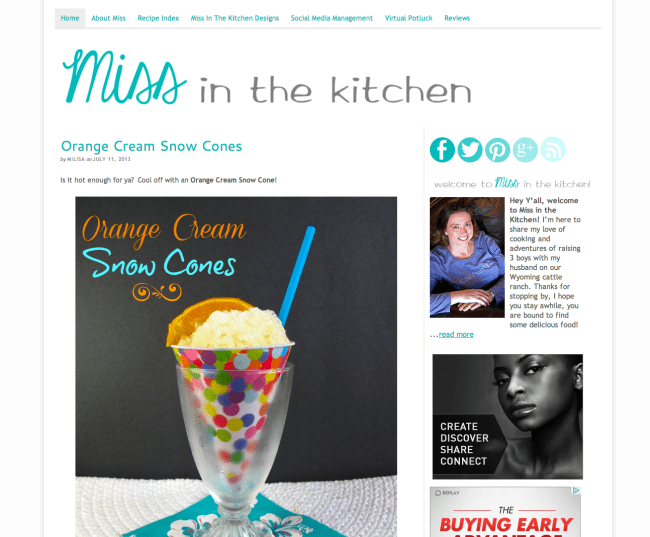 Miss in the Kitchen After | farmgirlgourmet.com