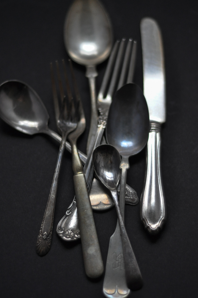 Vintage Silverware | farmgirlgourmet.com