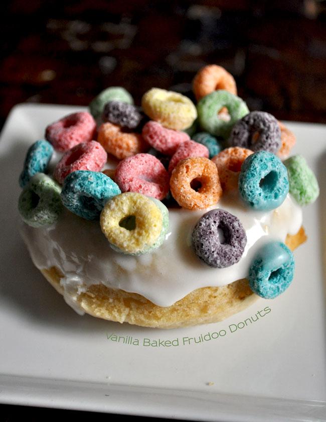 Vanilla Baked Fruidoo Donuts
