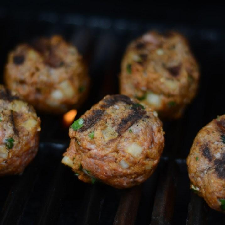 Moroccan Meatball Sliders | farmgirlgourmet.com