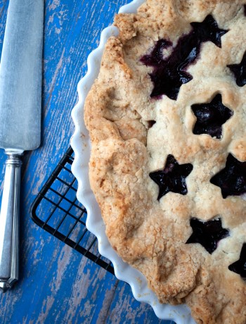 Fresh Cherry & Orange Pie | farmgirlgourmet.com