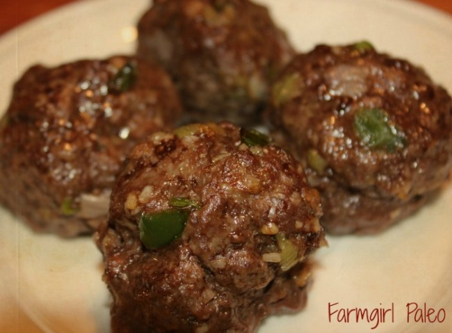 Paleo Meatballs 2