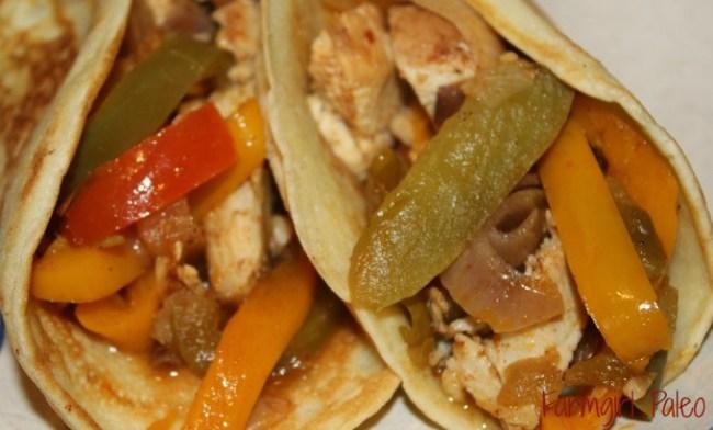Paleo Slow Cooker Chicken Fajitas 2