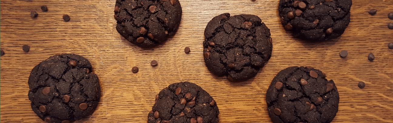 Chocolate Chocolate Chip Cookies Slider