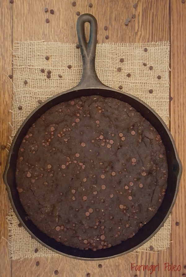 Chocolate Chocolate Paleo Chip Skookie