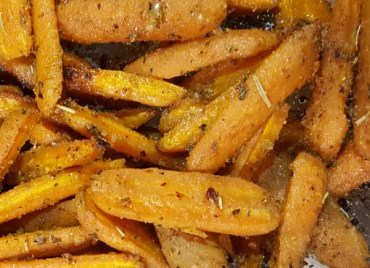 Paleo Carrot Fries, make a delicious Paleo side dish.