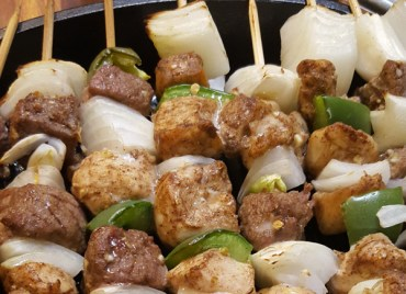 Paleo Egyptian Shish Kabobs