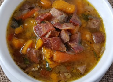 Paleo Sweet Potato Sausage Soup