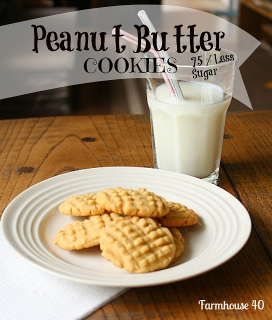 Farmhouse Peanut Butter Cookies