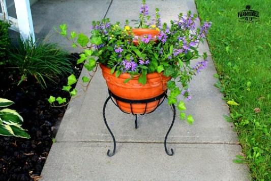 Birdbath planter how to