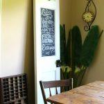 DIY Chalk & Magnet Board Door