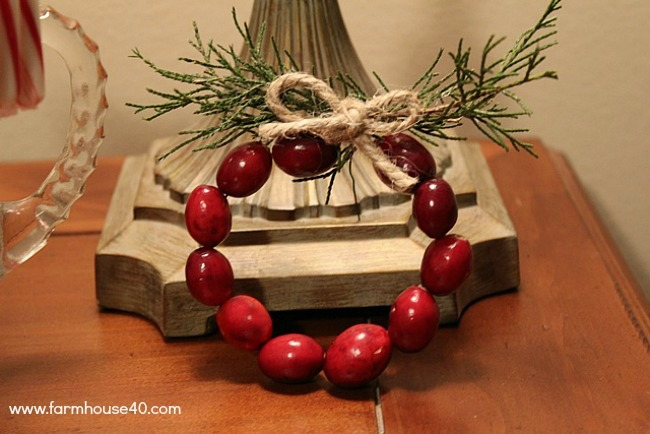 cranberry wreath 0084A