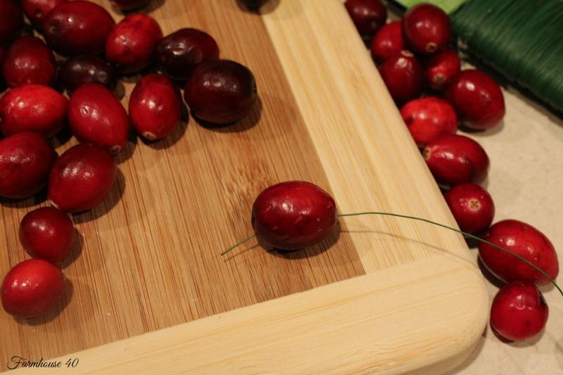 cranberry wreath 3485