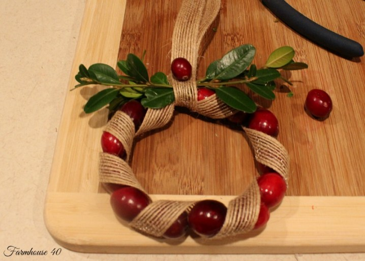 cranberry wreath 3494