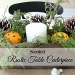 DIY ORANGE CLOVE SCENTED CENTERPIECE
