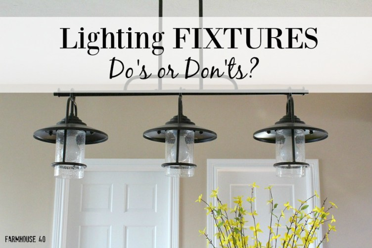 farmhouse kitchen lighting dos and donts