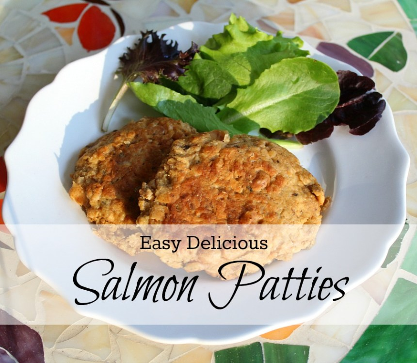 Easy Salmon Cake Recipe: Salmon Patties