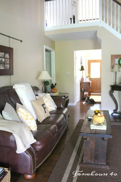 brown furniture rug