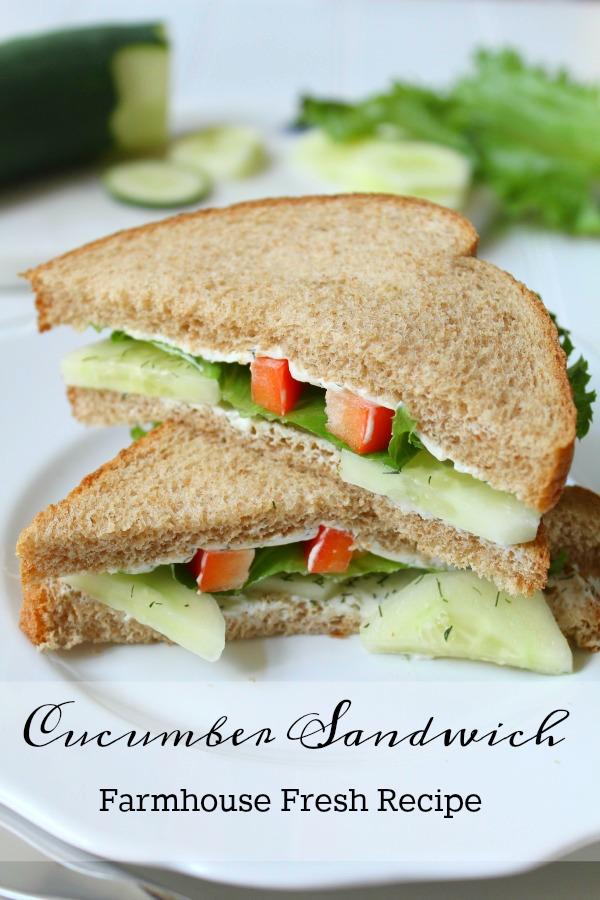 Recipes: How to Make Garden Fresh Sandwiches