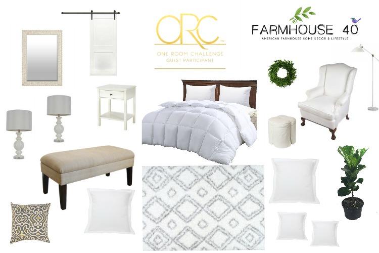 Farmhouse Master Bedroom   One Room Challenge (Week 3)