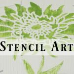 Stencil Art Wood Board