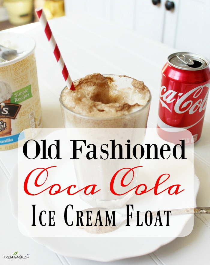 Coca Cola float