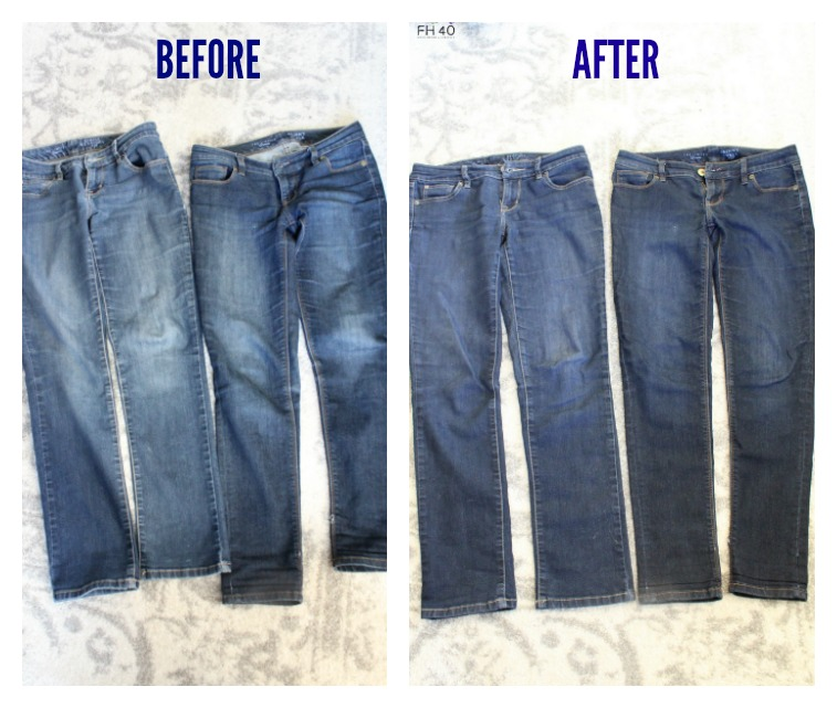 how to make jeans look new again