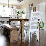 FARMHOUSE TABLE MAKEOVER – PART 1