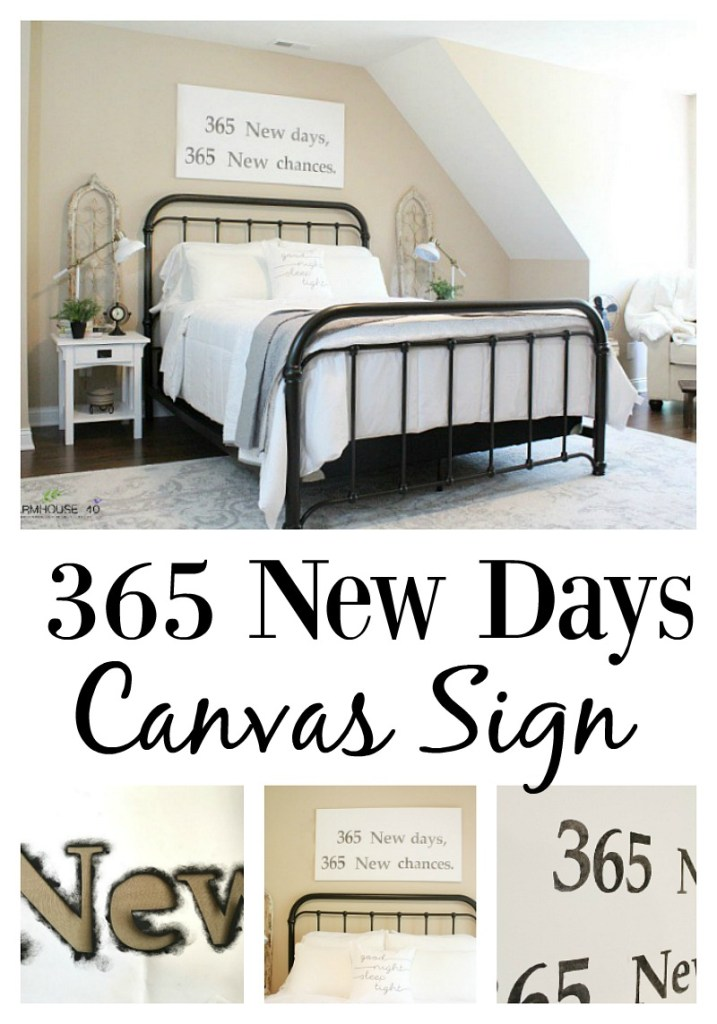 365 New Days Sign