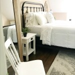 Loft Guest Bedroom Simple Decor