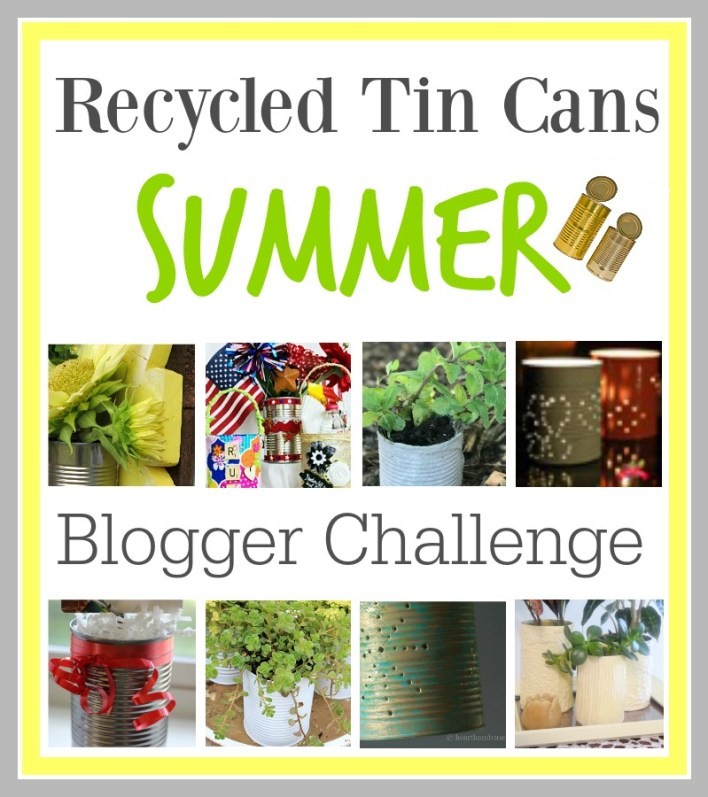 Recycled-tin-cans-summer-blogger-challenge