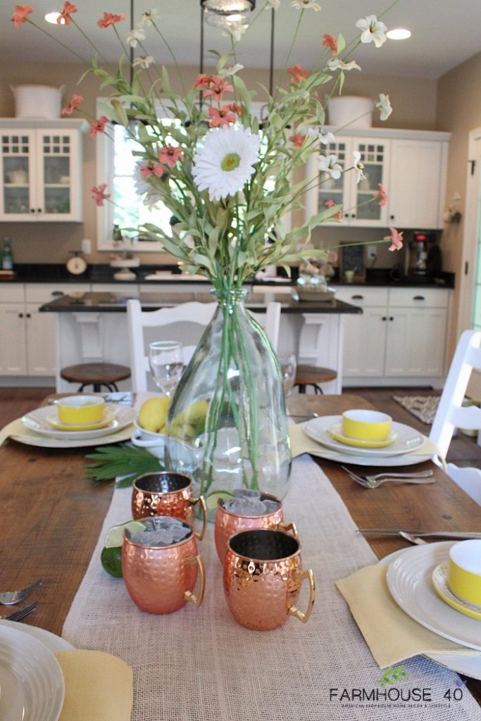 Summer Tablescape Farmhouse Dining FARMHOUSE 40