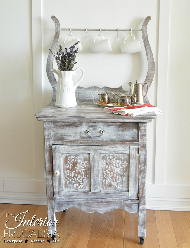 antique-wash-stand-makeover