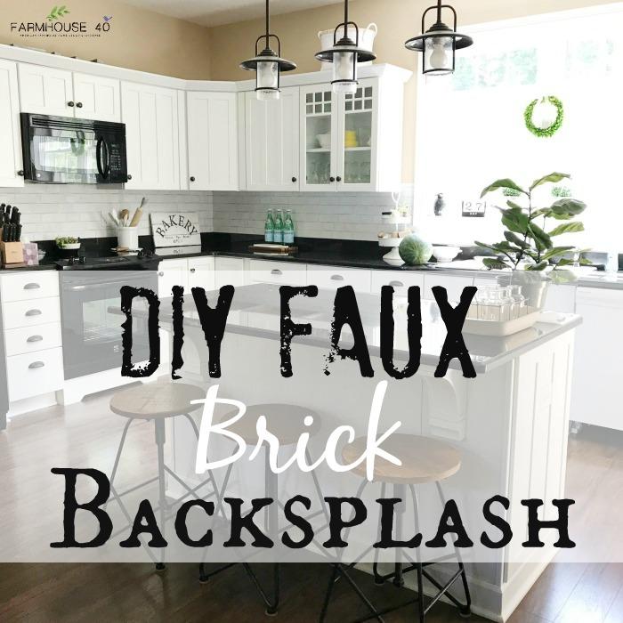 faux-brick-backsplash