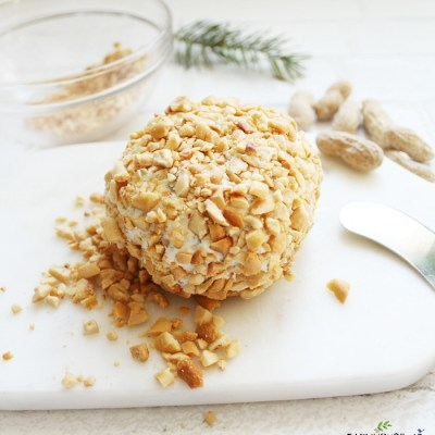 DELICIOUS PARTY CHEESE BALL