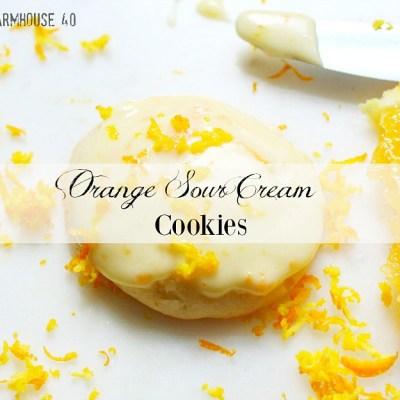 Orange Sour Cream Cookies
