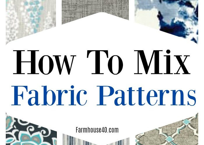 How To Mix Fabric Patterns In Your Home Decor