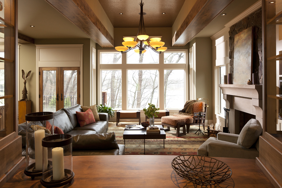 Harmony at Home: Rustic and Modern Working Together ... on Rustic Traditional Decor  id=44861
