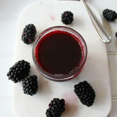 How To Can Homemade Blackberry Simple Syrup