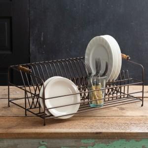 vintage rustic farmhouse plate racks