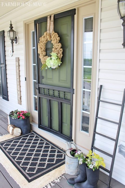 Stunning Green Doors - Farmhouse Made - Olive