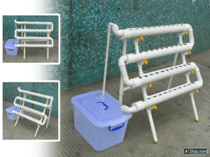How To Hydroponics verticle pvc system