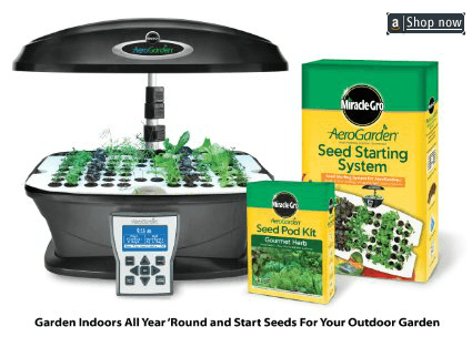 Indoor Aerogarden hydroponics indoor kit